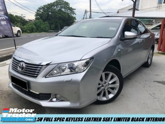 2014 TOYOTA CAMRY 2.5V PREMIUM HIGH SPEC LOW MILEAGE SHOWROOM CAR LIKE NEW CONDITION TIPTOP