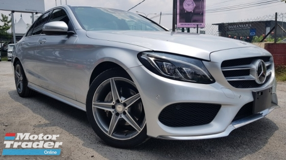 2014 MERCEDES-BENZ C-CLASS C200 AMG  STOCK CLEARANCE