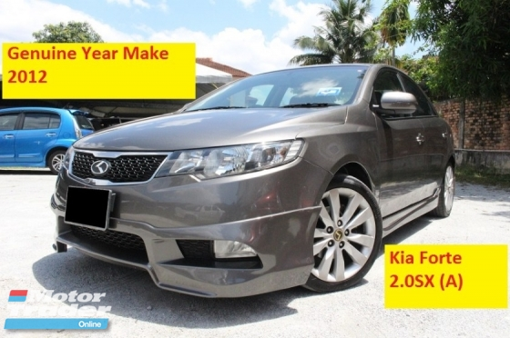2012 NAZA FORTE 2.0 SX (A) 6 Speed Enhanced Specs (Ori Year Make 2012)(Leather Seats)(Loan Up to 8 Years)