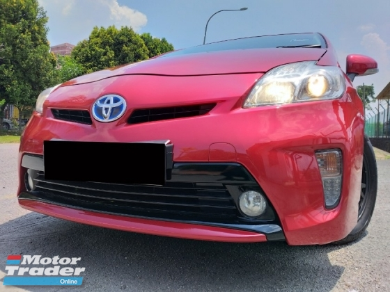2012 TOYOTA PRIUS 1.8L HYBRID (A) 1 OWNER/ LOW MILEAGE/ F-LOAN