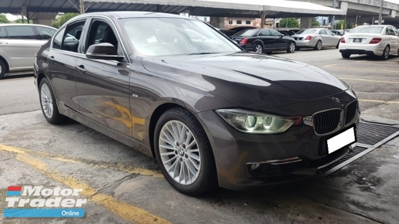 2013 BMW 3 SERIES 320I 2.0cc LUXURY LINE (A) REG 2013, ONE CAREFUL OWNER, FULL SERVICE RECORD, LOW MILEAGE DONE 121K KM, FREE 1 YEAR GMR CAR WARRANTY