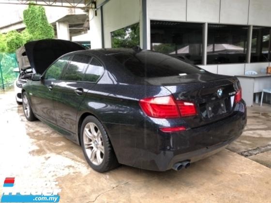 2014 BMW 5 SERIES Unreg BMW 520i 2.0 Turbo M Sport Camera Push Start 8Speed SST Deduction