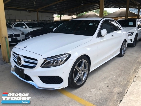 2014 MERCEDES-BENZ C-CLASS C200 C180 AMG Sport Turbocharged MeC180 AMG Sport Turbocharged Memory Bucket Seat Collision Prevention Assist Distronic PLUS Intelligent LED Smart Entry Paddle Shift Steering Bluetooth Connemory Bucket Seat Collision Prevention Assist Distronic PLUS