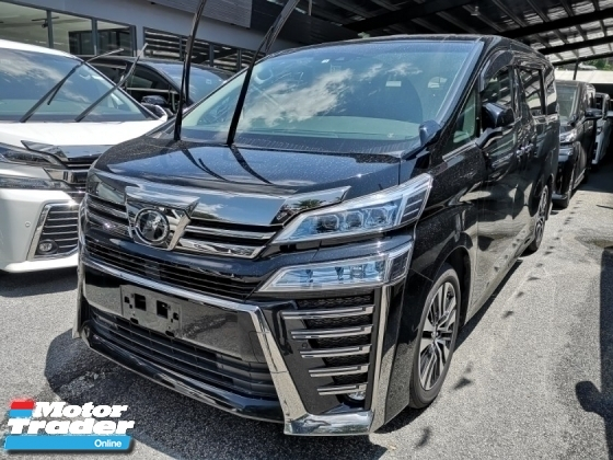 2018 TOYOTA VELLFIRE TOYOTA VELLFIRE 2.5 ZG.SUNROOF.4 CAMERA.HIGH TRADE IN.