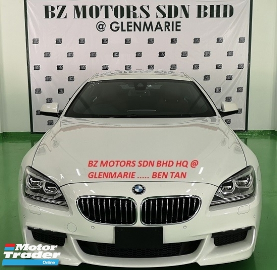 2014 BMW 640i 2014 BMW 640i M-SPORT GRAN COUPE 3.0 TWIN POWER TURBO JAPAN SPEC UNREGISTERED