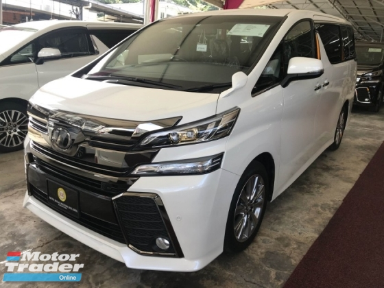 2016 TOYOTA VELLFIRE 2.5 GOLDEN EYE FULL SPEC JAPAN 2016