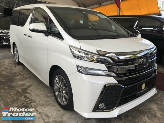 2017 TOYOTA VELLFIRE 2.5 GOLDEN EYE FULL SPEC JAPAN 2017