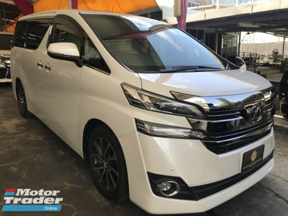 2015 TOYOTA VELLFIRE 2.5 V SPEC 3 POWER DOOR FULL SPEC