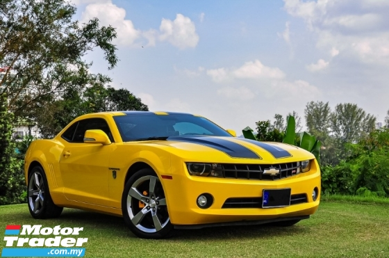 2011 CHEVROLET CAMARO LT RS TRANSFORMERS LIMITED EDITION 3.6 RS EDITION