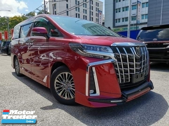 2018 TOYOTA ALPHARD 3.5 EXECUTIVE LOUNGE FULL LOADED WITH RED