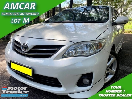 2010 TOYOTA COROLLA ALTIS 1.8 (A) NEW FACELIFT DUAL VVT-I LEATHER