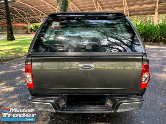 2010 ISUZU D-MAX 2.5L DOUBLE CAB (M) 1 OWNER FREE CANOPY