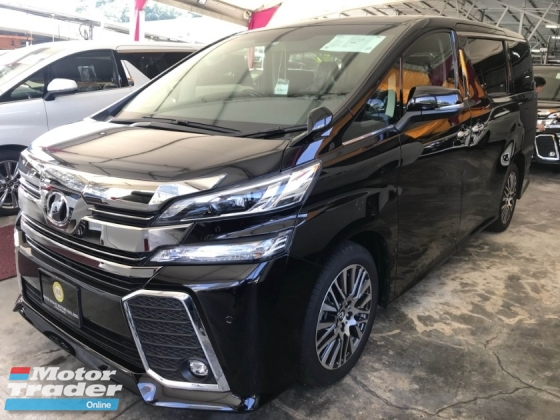 2017 TOYOTA VELLFIRE 2.5 ZG BIG SCREEN PLAYER JAPAN FULL SPEC 2017