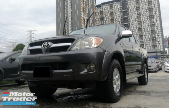 2007 TOYOTA HILUX 2.5G (AT) EXCELLENT CONDITION ** SPECIAL PROMOTION ** BLACKLIST CAN LOAN **