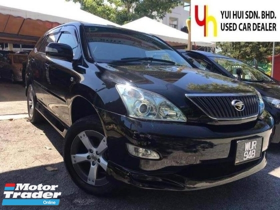 2005 TOYOTA HARRIER 2005/2010 Toyota HARRIER 3.0 AIRS PANAROMIC ROOF (A) 1 OWNER,  AUTO CRUISE, ELECTRIC SEAT, ELECTRIC STEERING WHEEL