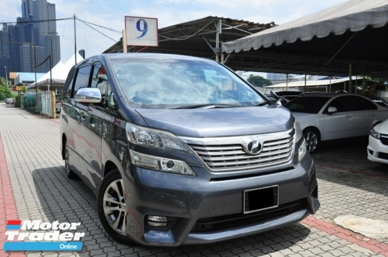 2010 TOYOTA VELLFIRE 2.4Z PLATINUM SELECTION II TYPE GOLD Genuine Year Make 2010