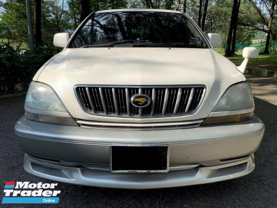 2001 TOYOTA HARRIER 240G PREMIUM 2.4 VVT-I [WORTH TO BUY]