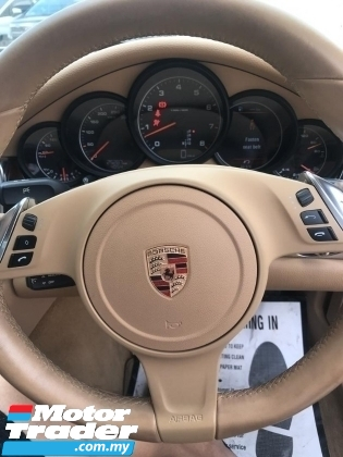 2013 PORSCHE PANAMERA  3.6 BEIDGE INTERIOR POWER BOOT UNREG