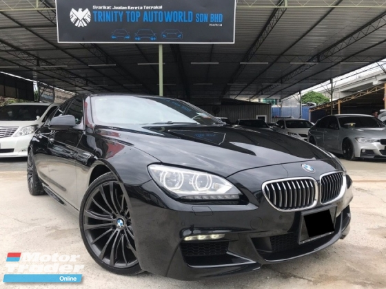 2013 BMW 6 SERIES 640I GRAN COUPE 3.0 M SPORT CBU, REGISTER 2017, 4 DOOR, FULL SPEC, SUNROOF, POWERFUL CAR, ALMOST LIKE NEW, OFFER RAYA, DEAL SAMPAI JADI