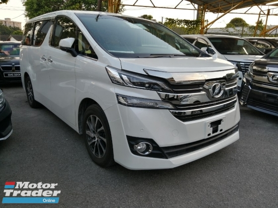 2016 TOYOTA VELLFIRE 2.4 X Limited Spec Unregistered Local AP