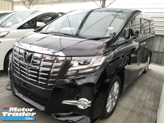 2016 TOYOTA ALPHARD 2.5S Unreg 2016 7 Seater *** Superb Condition *** Like new Car ***Raya Promo ***