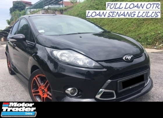 2012 FORD FIESTA 1.6 L SPORT HATCHBACK FULL LOAN OTR