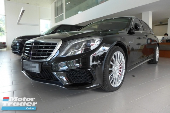 2016 MERCEDES-BENZ S-CLASS S63 AMG LONG