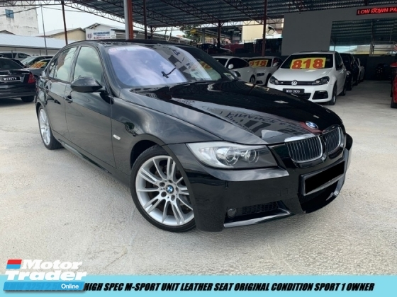 2009 BMW 3 SERIES 325i M-SPORT LCI BEW FACELIFT MODEL WITH OLOW MILAGE TIP TOP CONDITION