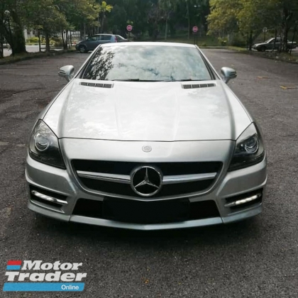 2012 MERCEDES-BENZ SLK 200 1.8 AMG Roadster Pure - Immaculate Condition & Low Mileage well kept! Optional 3 Digit Special Number Plate.