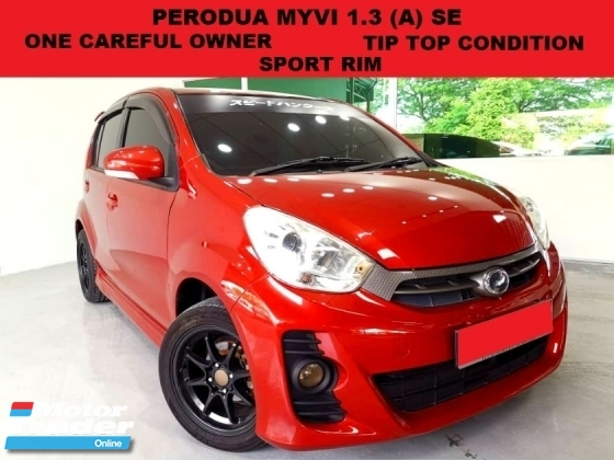 2013 PERODUA MYVI 1.3 (A) HATCHBACK SPORT RIM ONE CAREFUL OWNER TIP TOP CONDITION