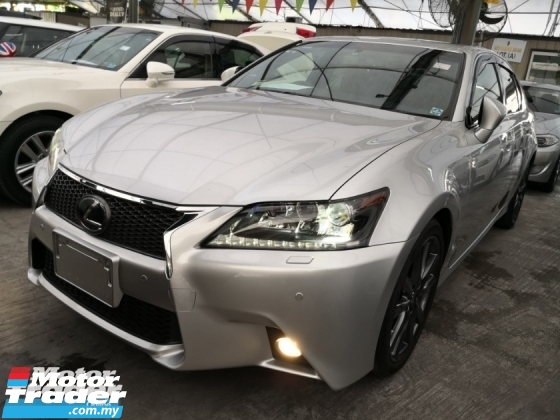 2012 LEXUS GS F Sport 2.5 V6 Unreg 2012 *** Car King *** Like New Car *** Last Unit Raya Promotion