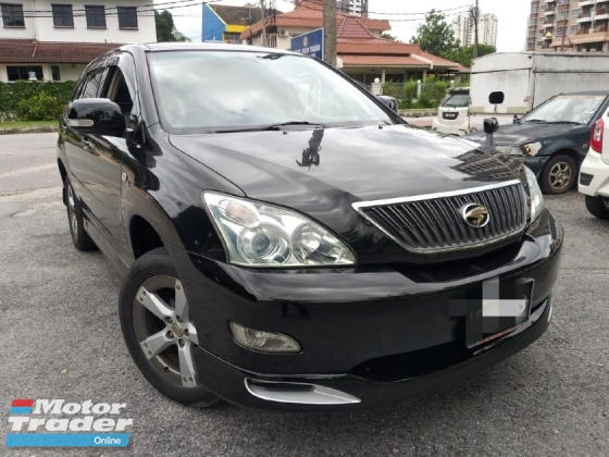 2003 TOYOTA HARRIER 240G L PACKAGE ALCANTARA PRIME VERSION