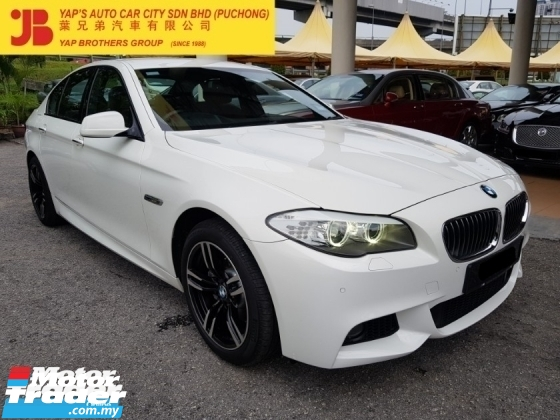 2012 BMW 5 SERIES 528i M Sport 2.0 Twin Power Turbo (A)