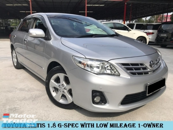 2014 TOYOTA ALTIS g-spec with low mileage and 1owner tip top condition