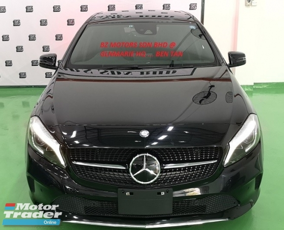 2016 MERCEDES-BENZ A-CLASS 2016 MERCEDES BENZ A180 SE1.6 TURBO UNREG JAPAN SPEC CAR SELLING PRICE ONLY ( RM 139,000.00 NEGO )