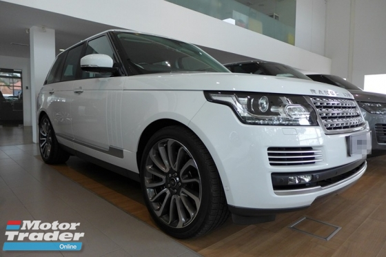 2013 LAND ROVER RANGE ROVER AUTOBIOGRAPHY 5.0L V8 PETROL FULL SPEC