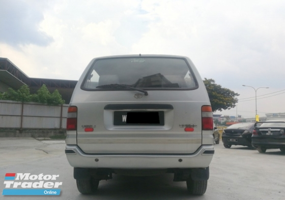 2000 TOYOTA UNSER 1.8 MPV (M) EXCELLENT CONDITION ** SPECIAL SPECIAL PROMOTION ** RAYA SALES PROMOTION **