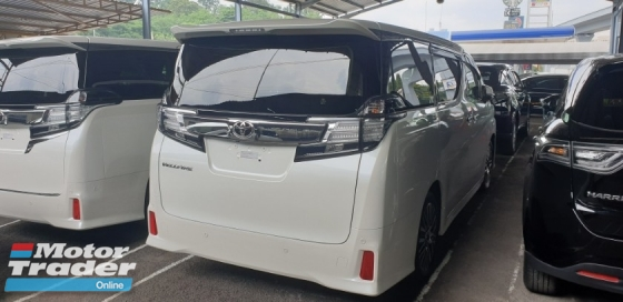 2017 TOYOTA VELLFIRE 2.5 ZG ACTUAL YEAR MAKE NO HIDDEN CHARGES