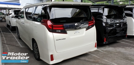 2017 TOYOTA ALPHARD 2.5 SC ACTUAL YEAR MAKE 2017 SST INCLUSIVE