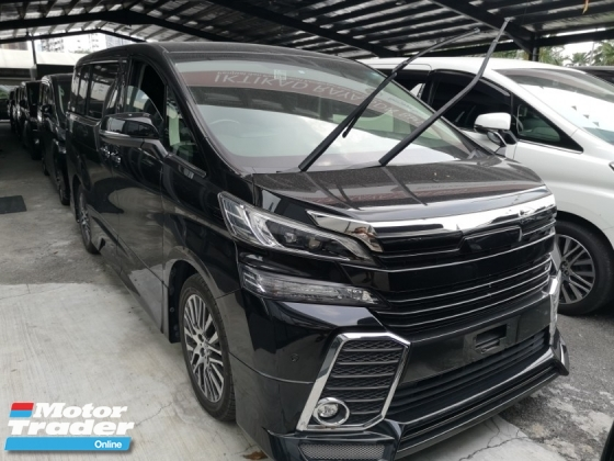 2016 TOYOTA VELLFIRE Toyota Vellfire ZG With Body Kit And Roof Monitor