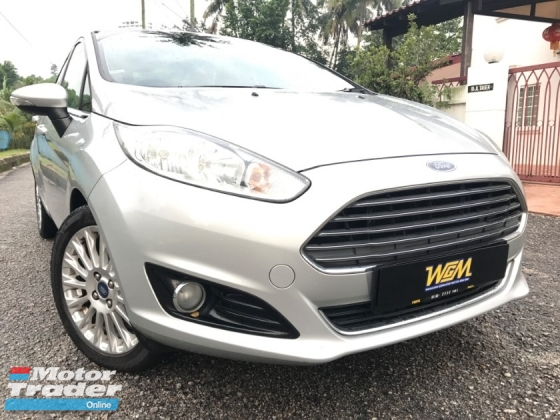 2014 FORD FIESTA 1 OWNER FULL SEVICE RECORD WARANTY LIKE NEW