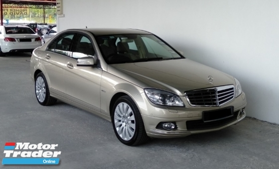 2011 MERCEDES-BENZ C-CLASS C200 1.8 CGI (A) Genuine Mileage Car King Local Model