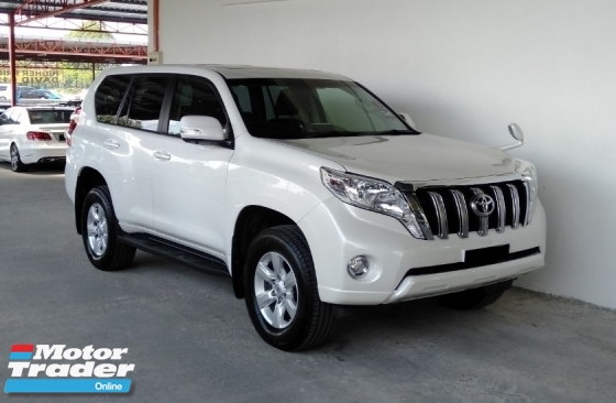 2015 TOYOTA PRADO 2.7 TX (A) Petrol Facelift MPV\'s King Low Mileage