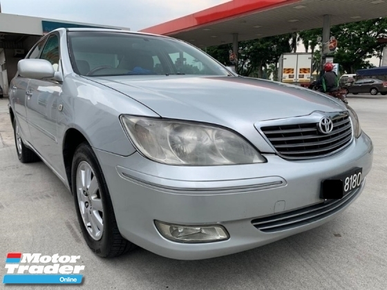 2002 TOYOTA CAMRY TOYOTA CAMRY 2.4V Promotion Hot Deal !!!!!!~ Free Test Drive ~ Booking A Car Get Free Gift ~ @@@Cash Deal With Car One Automotive Now@@@~T&C Apply ~