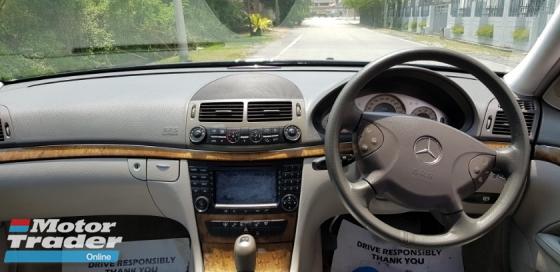 2006 MERCEDES-BENZ E-CLASS E200 1.8 auto