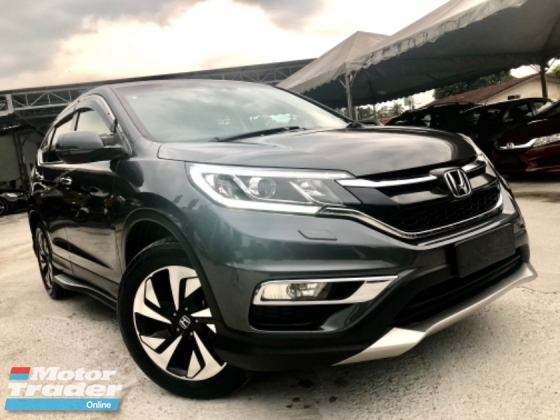 2016 HONDA CR-V 2.4 4WD (A) FACELIFT FULL SVR RECORD UNDER WARRANTY HONDA