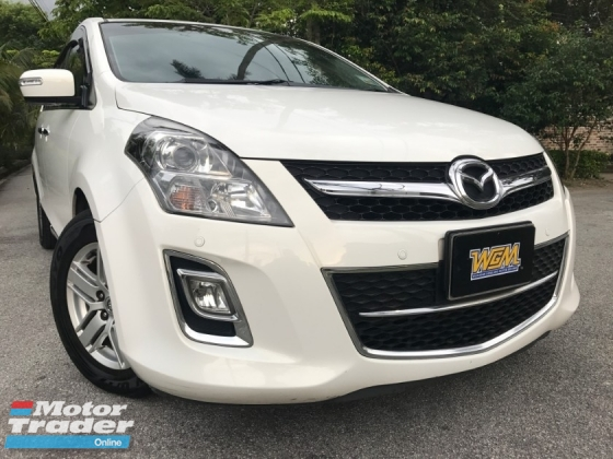 2013 MAZDA 8 2.3 DOKTOR OWNER FUL SPEC FUL SEVICE RECORD LIKE NEW