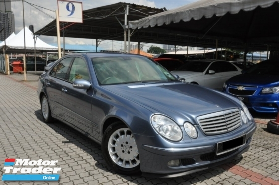 2005 MERCEDES-BENZ E-CLASS Genuine Year Make 2005 E240 2.6 Elegance Model CBU