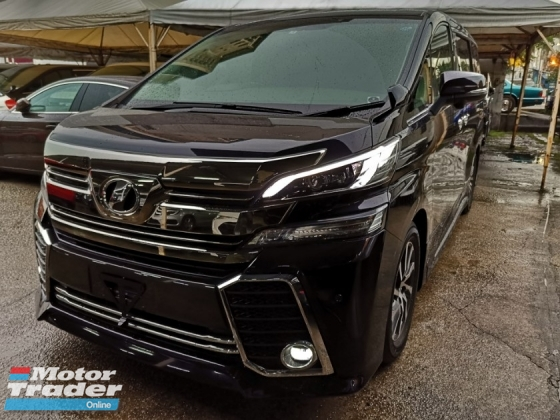 2015 TOYOTA VELLFIRE 2.5 ZG SPEC SURROUND CAM UNREG