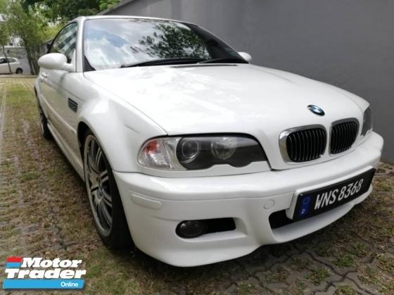 2000 BMW M3 E46 3.2 Manual